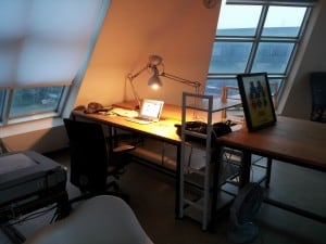 The writer's hole